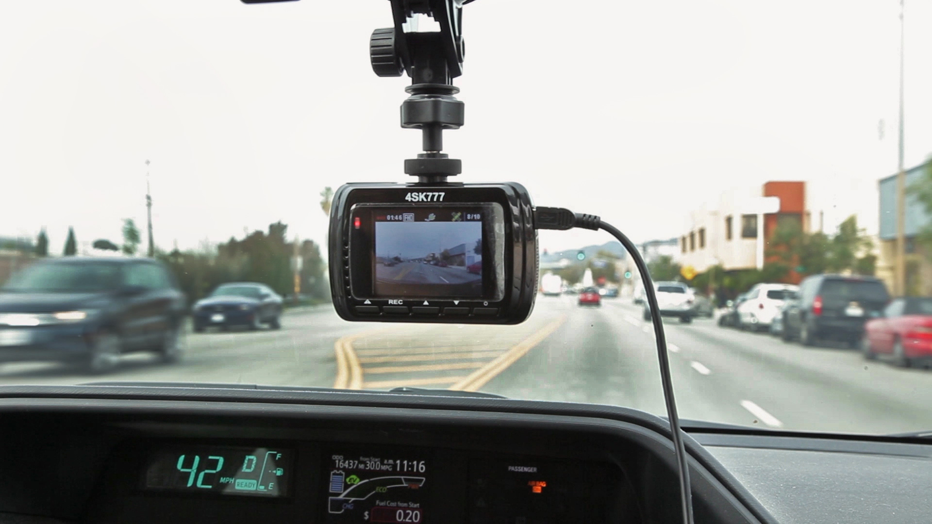 4sight 4sk777 dash board camera
