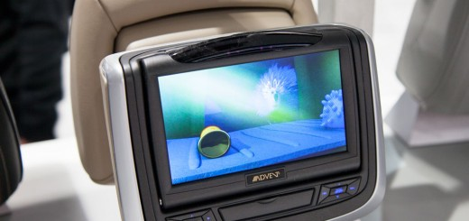 Audiovox DVD headrests for Active headrests