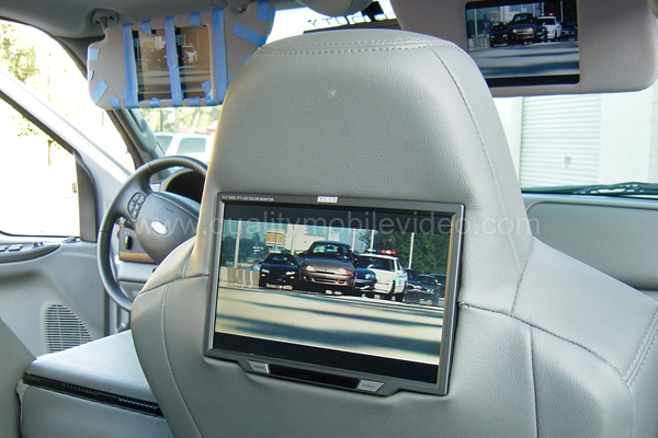 Headrest monitor installation tips