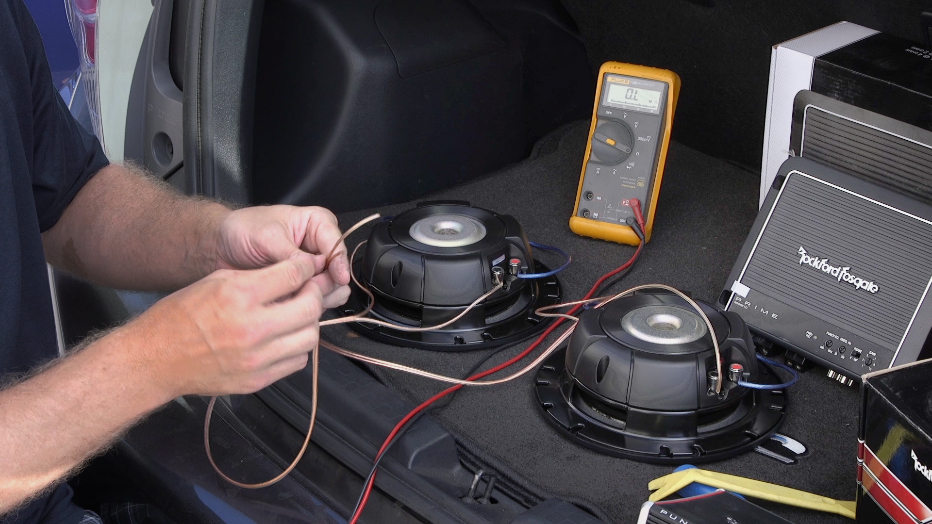 Rockford Fosgate Car Audio Systems Wiring Wiring Library