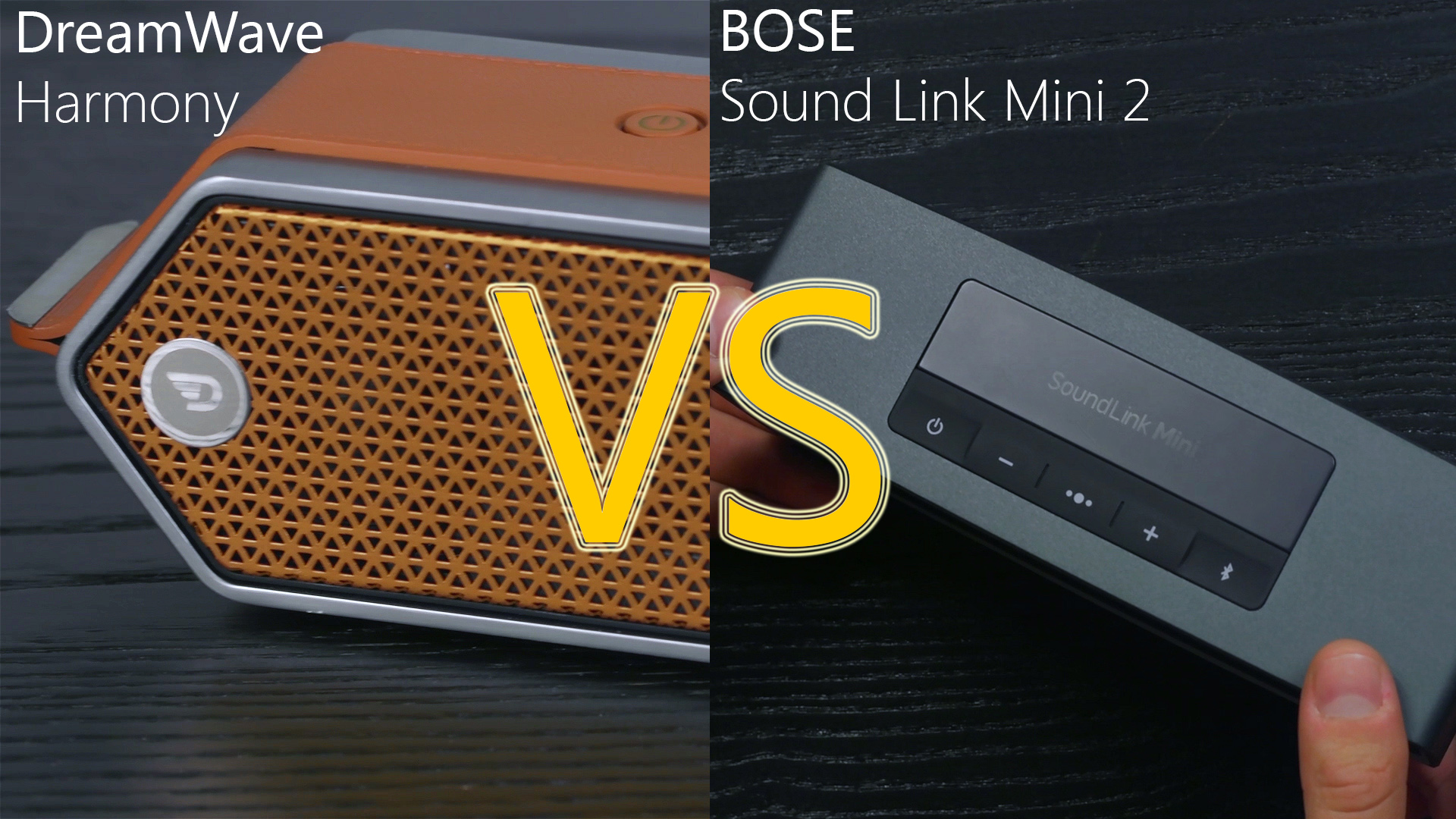 Dreamwave Harmony versus the Bose Sound Link Mini