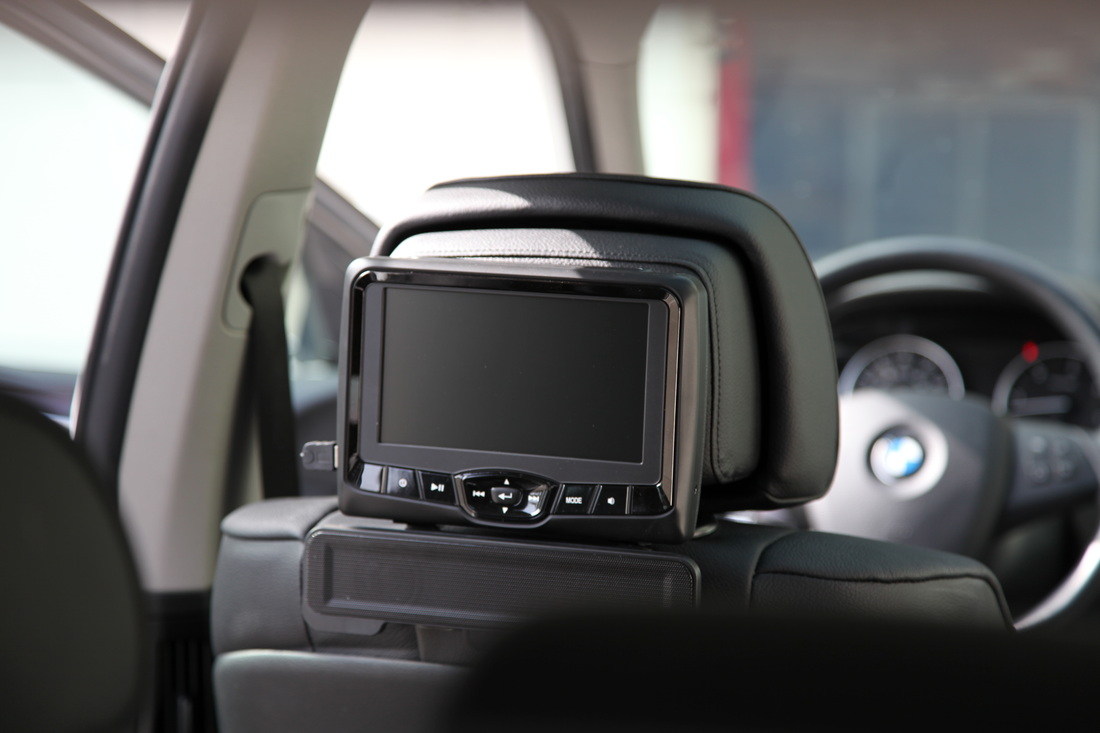 Active Headrests – What are they and how to install DVD's
