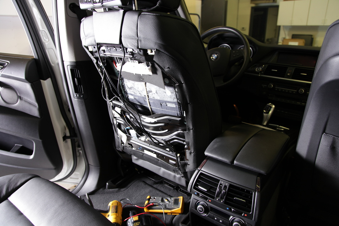 Active Headrests What Are They And How To Install Dvds Quality Headrest Dvd Wiring Diagram Rosen Av7700 Attached The Seat