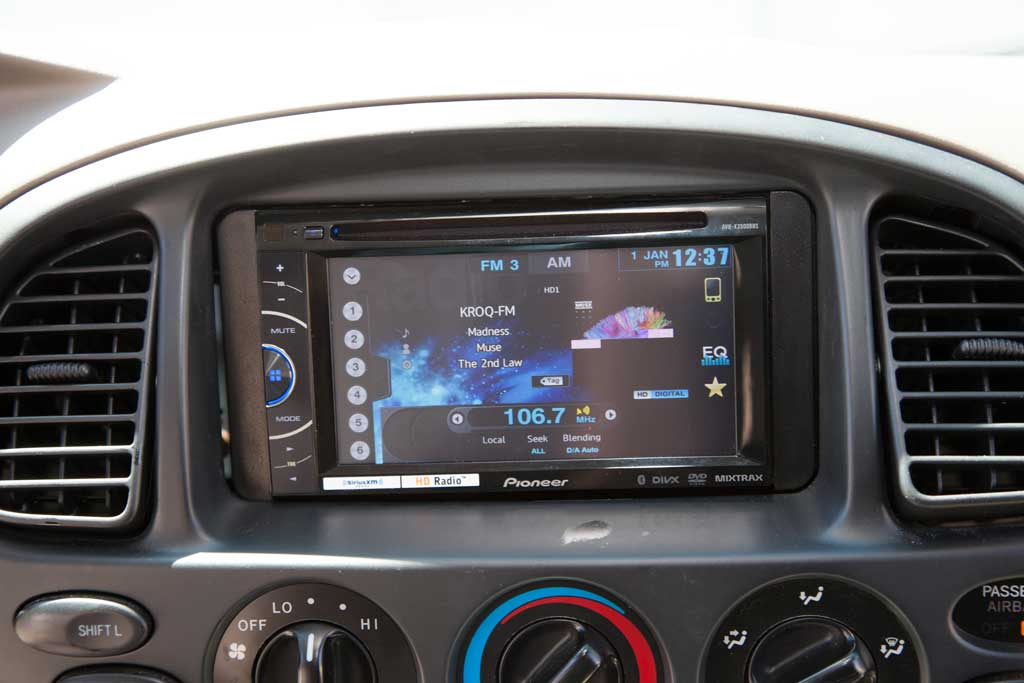 Pioneer double din installation