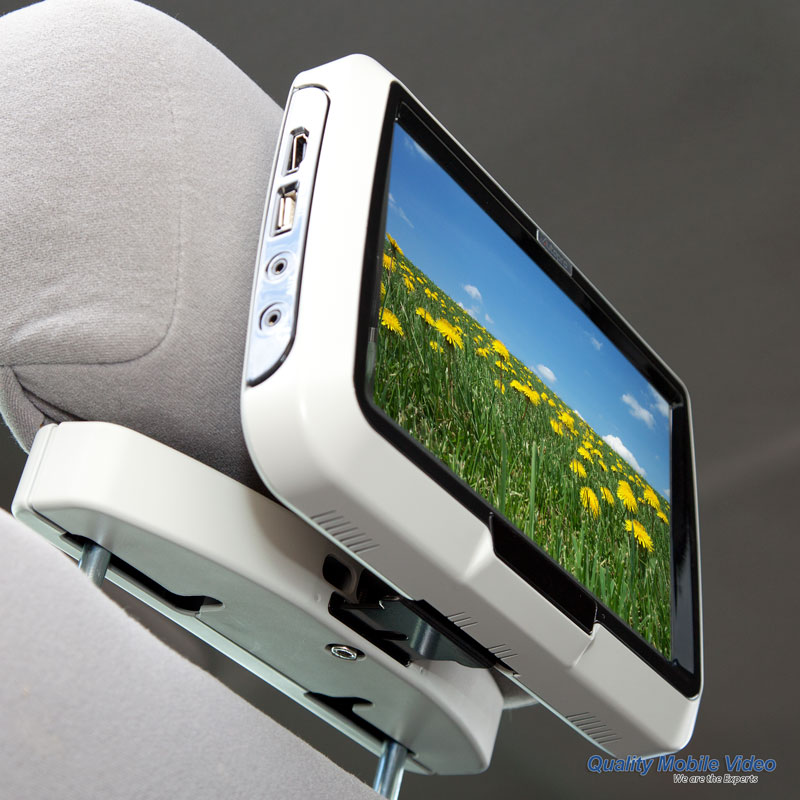 Active Headrests - What are they and how to install DVD's ... on