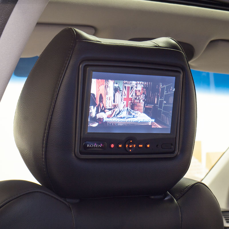 Rosen AV7900 DVD Headrest – Installation Video