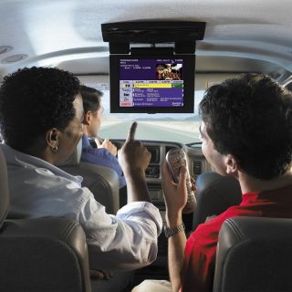 Watch Live TV Shows in Your Car with Satellite TV