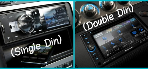single din and double din size difference