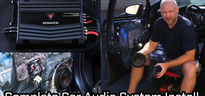 How to video - Full Car Audio System Installation: Speakers, Subwoofer and Amplifier